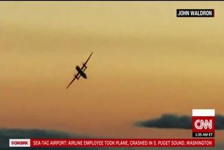 سقوط هواپیمای ربوده شده در «سیاتل»