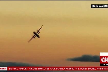 سقوط هواپیمای ربوده شده در «سیاتل» + فیلم