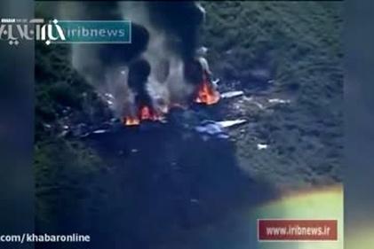 سقوط هواپیمای نظامی در آمریکا و مرگ ۱۶ سرنشین آن