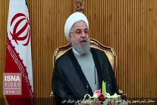 روحانی به اجلاس سران کشورهای ساحلی خزر رفت + فیلم
