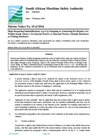 SAMSA Notice 2016_02