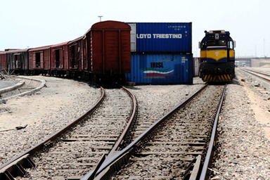 برنامه جهشی راه آهن برای کسب ۶۲ میلیون تن بار در سال ۹۶