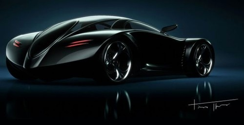 Mithos, futuristic car, Electromagnetic Vehicle